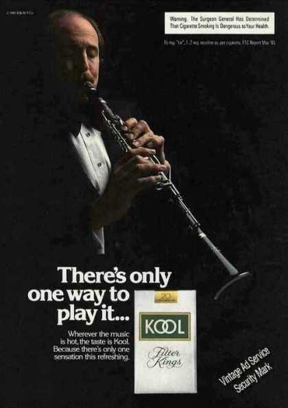 "Kool ""There's Only One Way To Play It.."" (1982)"