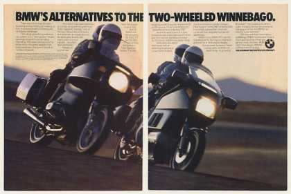 BMW K100 RT and R80 RT Motorcycles (1985)