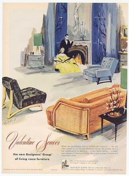 Valentine Seaver Designers Group Furniture (1952)