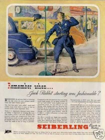 "Seiberling Tire Ad ""Remember When... (1944)"