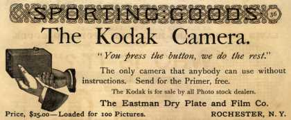 Kodak &#8211; The Kodak Camera (1889)