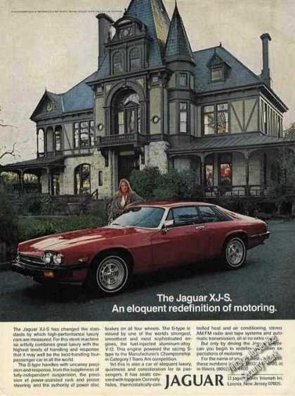 Jaguar Xj-s Eloquent Redefinition of Motoring (1979)