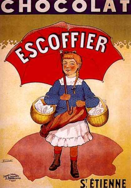 Chocolat Escoffier by Coulet (1920)
