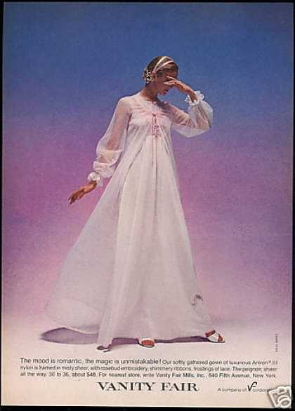 Vanity Sheer Gown Peignoir Lingerie Photo (1980)