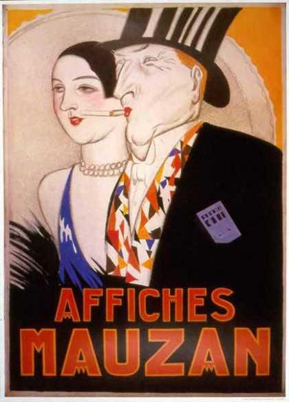 Affiches Mauzan &#8211; Achille Lucien Mauzan