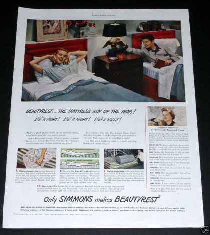Simmons Beautyrest Mattress (1949)
