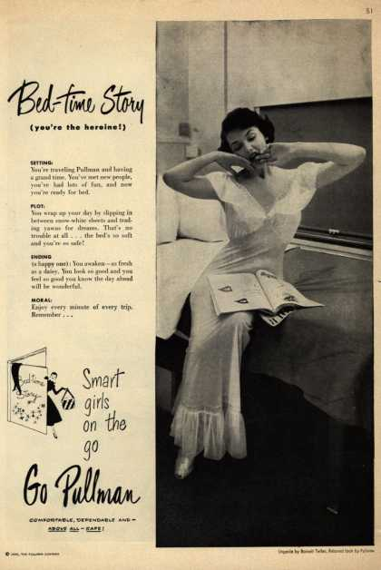 Pullman Company – Bed-time Story (you're the heroine!) (1950)