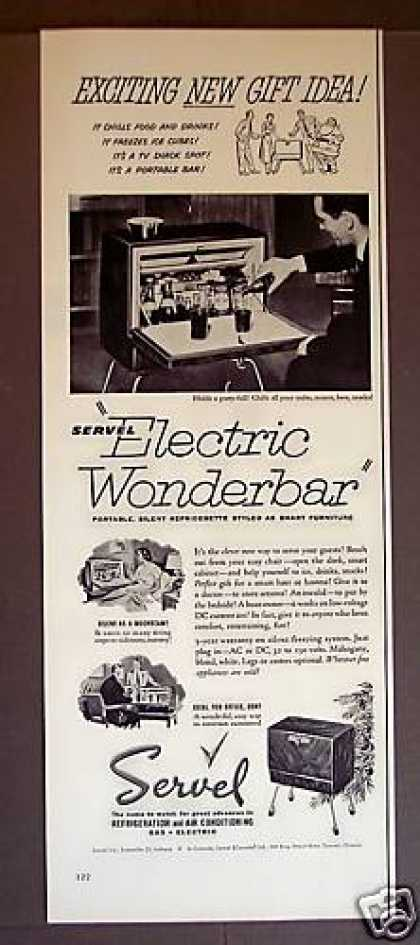 Servel Electric Wonderbar Refrigerator (1952)