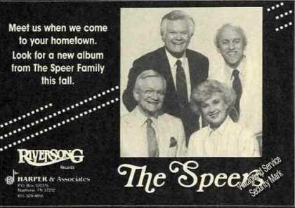 The Speers Photo Music Promo (1988)