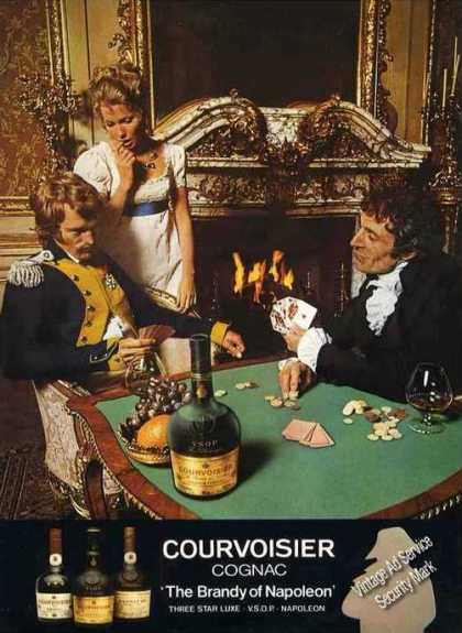 "Courvoisier Cognac ""Brandy of Napoleon"" Uk (1976)"