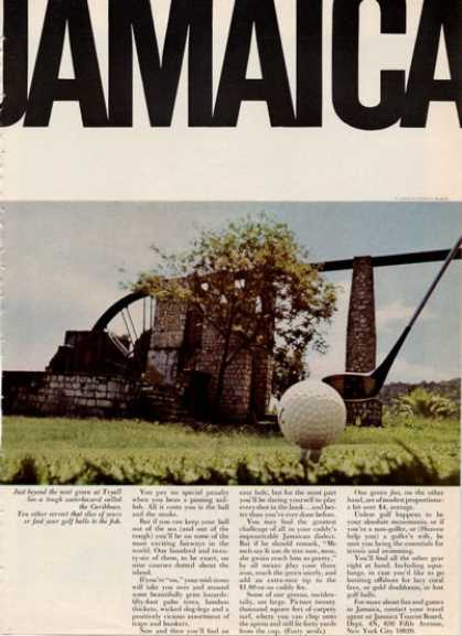 Jamaica Travel Tryall Green Golf (1964)