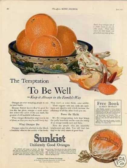 Sunkist Oranges Color (1921)