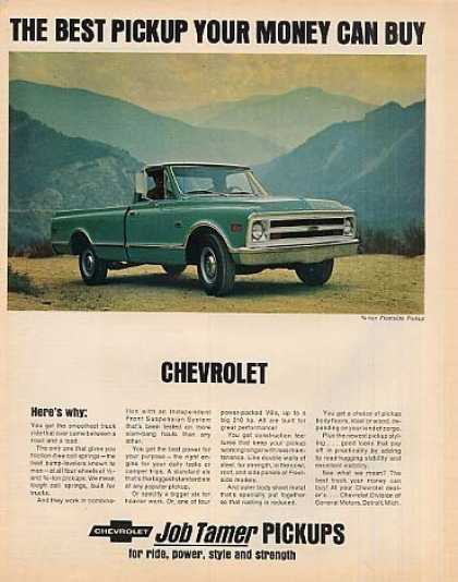 Chevrolet Pick-up Truck (1968)