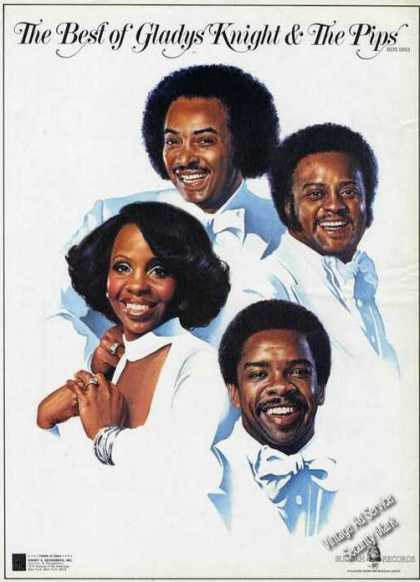 Gladys Knight & the Pips Ad Beautiful Art (1976)