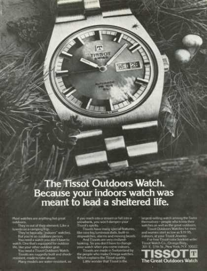 Tissot Outdoor Watch (1973)