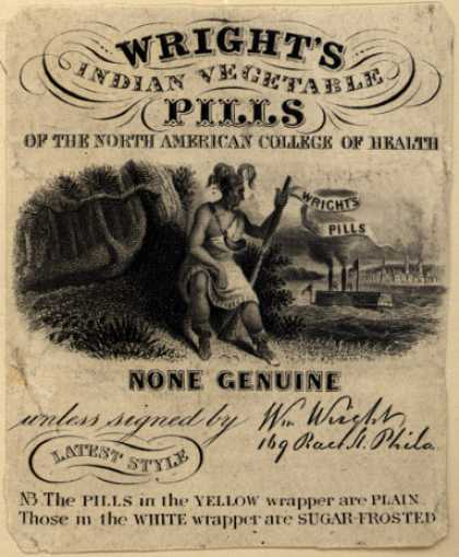William Wright's Wright's Indian Vegetable Pills – Wright's Indian Vegetable Pills
