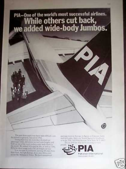 Pia Pakistan International Airline (1977)