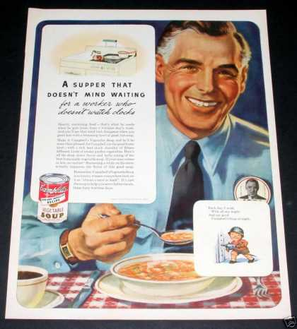 - Campbell's Soup, Wwii Wartime (1943)