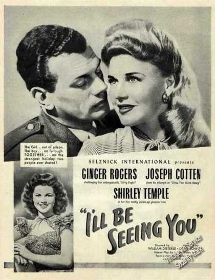 """I'll Be Seeing You"" Rogers/cotten/t (1944)"