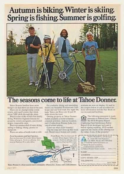 Tahoe Donner Seasons Family Homesites (1975)