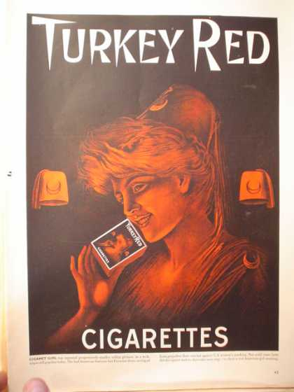 Turkey Red Cigarettes (1950)