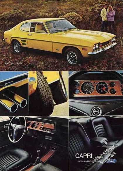"Mercury Capri ""The Sexy European"" Car Photos (1972)"