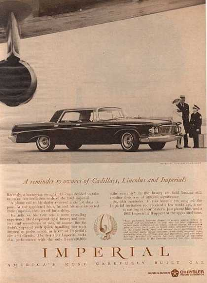 Chrysler's Imperial (1962)