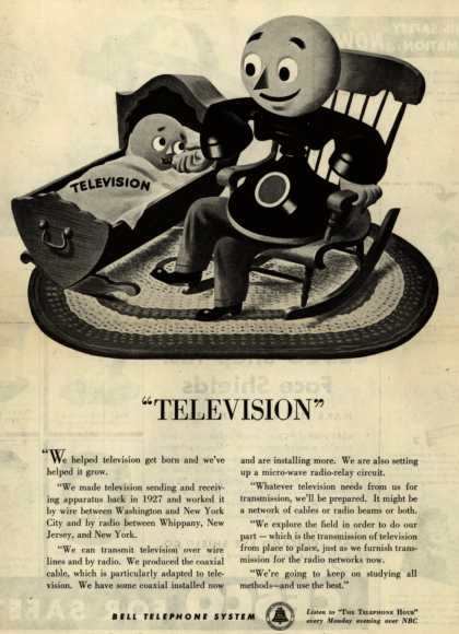 "Bell Telephone System's Television – ""Television"" (1945)"