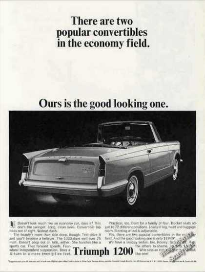 "Triumph 1200 Convertible ""The Good Looking One"" (1964)"