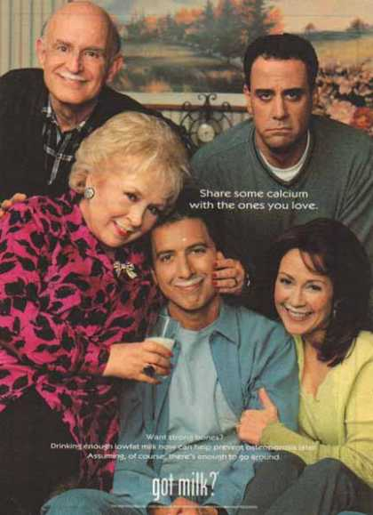 Everybody Loves Raymond – Got Milk? (1999)