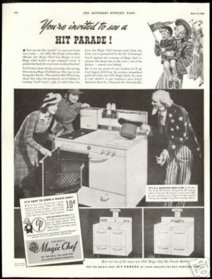 Uncle Sam Photo Magic Chef Oven (1941)