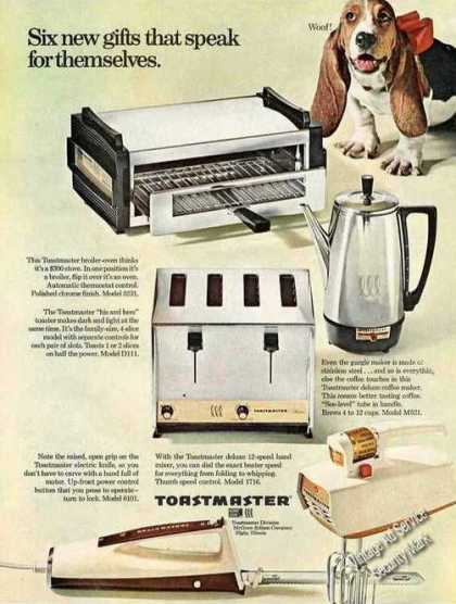 Toastmaster Small Appliances Basset Hound (1967)