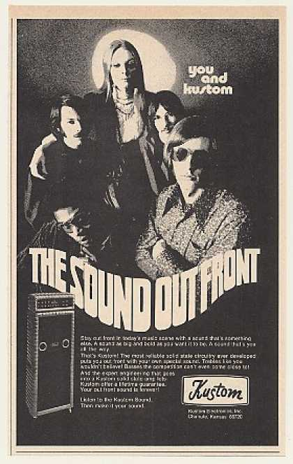 Kustom Amp The Sound Out Front (1971)