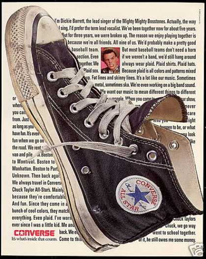 Dickie Barrett Boss Tone Converse All Star Shoe (1991)