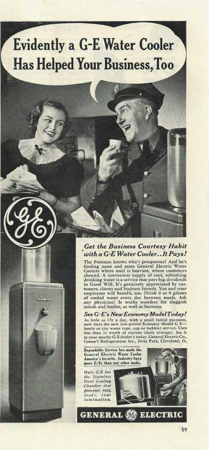 General Electric Water Cooler (1939)