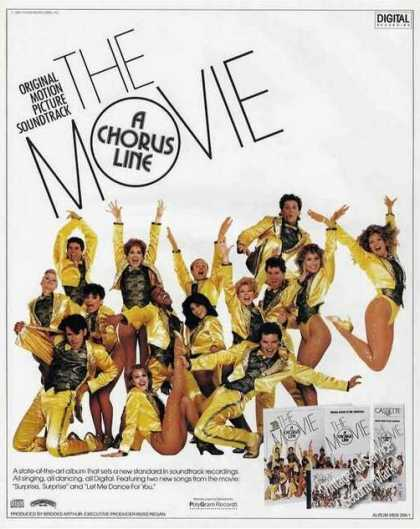 A Chorus Line Movie Soundtrack Album Promo (1985)