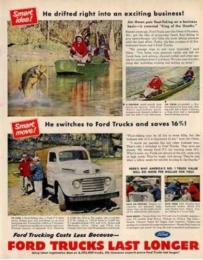 Ford Truck F-5 Jom Owen Ozark Fishing (1950)