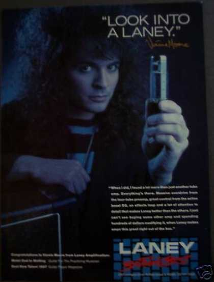 Vinnie Moore Laney Amplifiiers Music (1988)