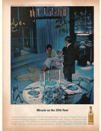 Seagram's Extra Dry Gin Miracle on 35th Floor (1962)