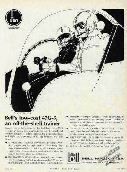 Bell Helicopter 47g-5 Off-the-shelf Trainer (1967)