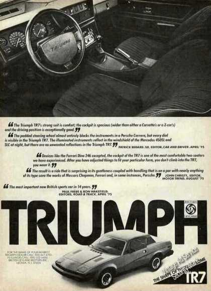 Triumph Tr7 Photos Car (1976)