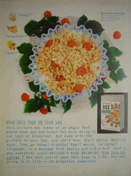 Kellogg's Rice Krispies Snap Crackle and Pop characters (1952)