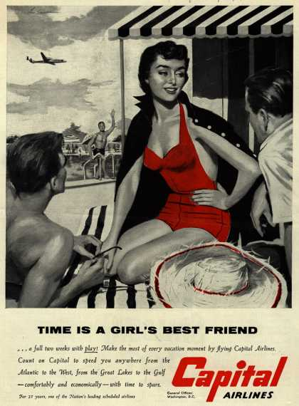 Capital Airlines – Time Is A Girl's Best Friend (1954)