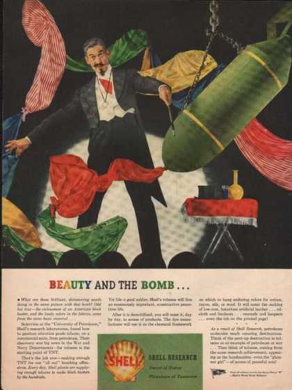 Beauty and the Bomb Shell Research (1944)