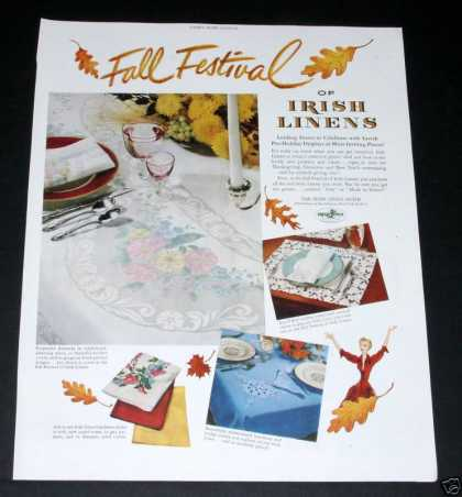 Irish Linens, Fall Festival (1950)