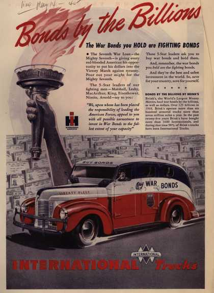 International Truck's 7th War Loan – Bonds by the Billions (1945)
