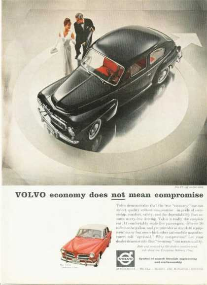 Volvo Pv 544 & 122-s Sedan Rare Color (1960)