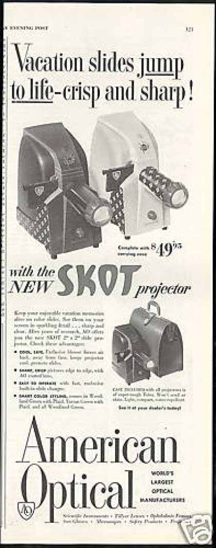 American Optical Skot Slide Projector (1954)