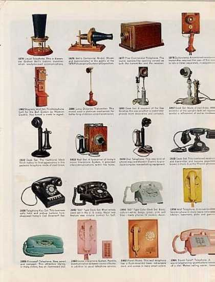 Western Electric CenterfTelephones (1965)