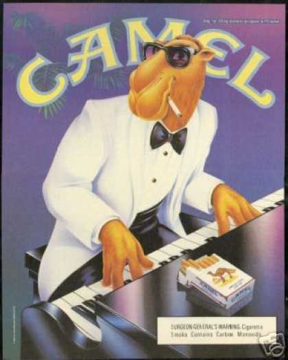 Joe Camel Piano Dinner Jacket Cigarette (1991)